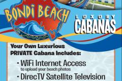 Advertising Design for Cabana Rentals